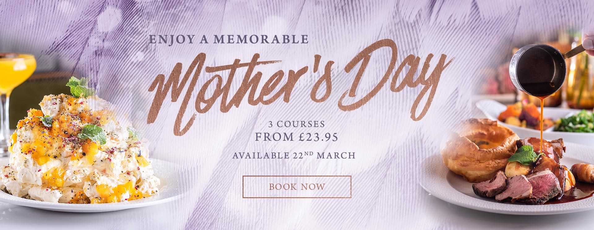 Mother's Day 2019 at The Rose & Crown