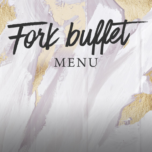 Fork buffet menu at The Rose & Crown