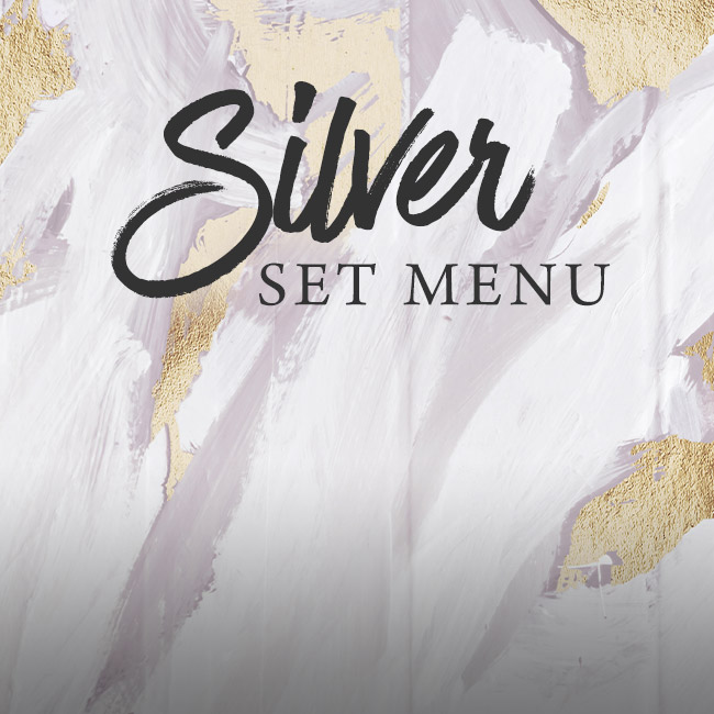 Silver set menu at The Rose & Crown