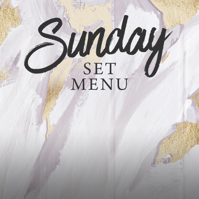 Sunday set menu at The Rose & Crown